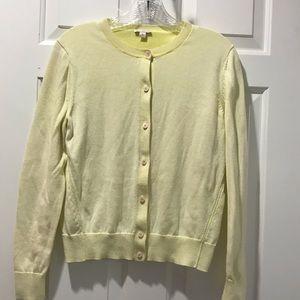 Chartreuse Gap Cardigan